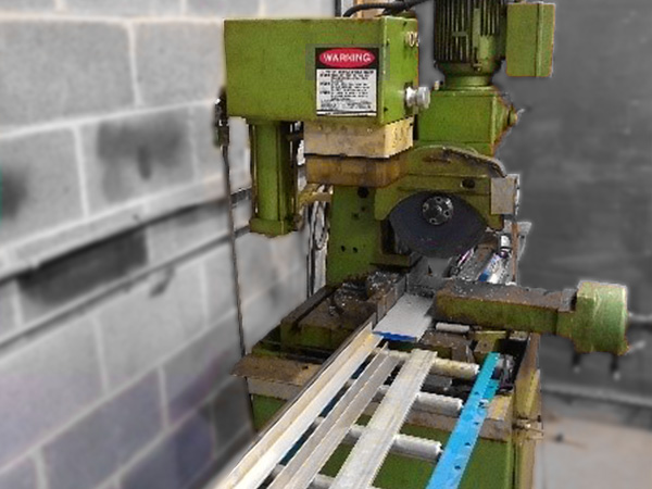 cold saw cutting